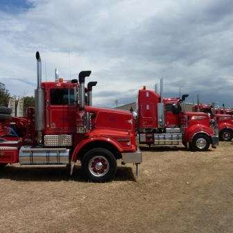 Gradco's fleet - The stars of the 2012 Tasmanian Truck Show